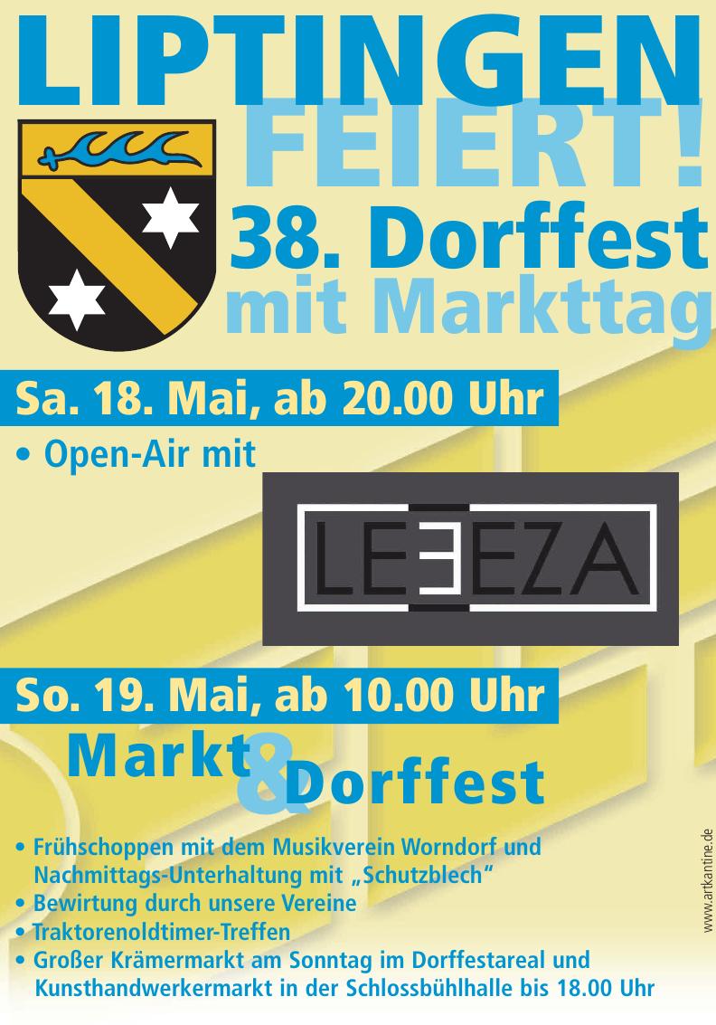38. Dorffest mit Markttag