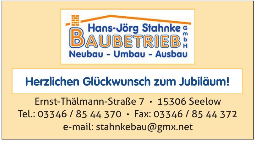 Hans-Jörg Stahnke Baubetrieb GmbH
