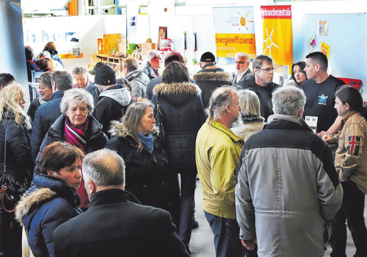 Die Gewerbeausstellung in Unterschneidheim zieht jedes Jahr rund 10 000 Besucher aus der Region und dem Bayerischen an.