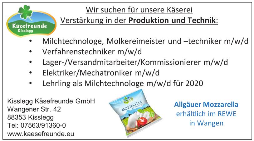 Kisslegg Käsefreunde GmbH