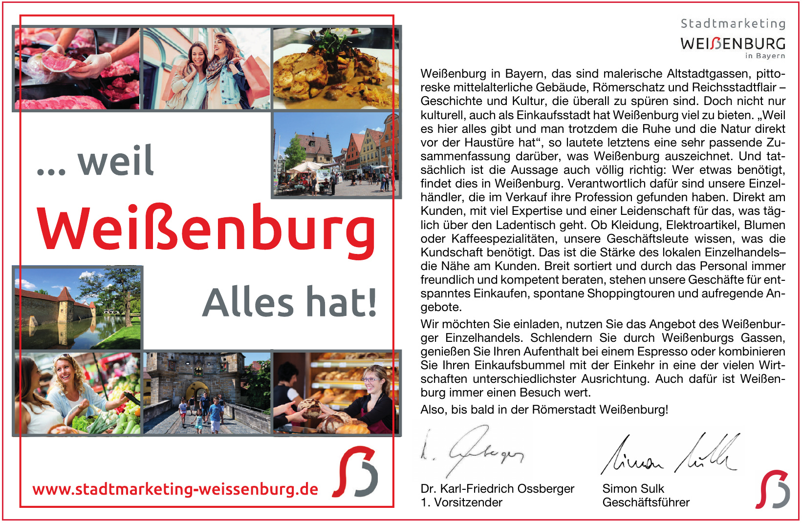 Stadtmarketing Weißenburg
