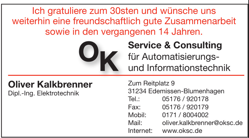 OK Service & Consulting
