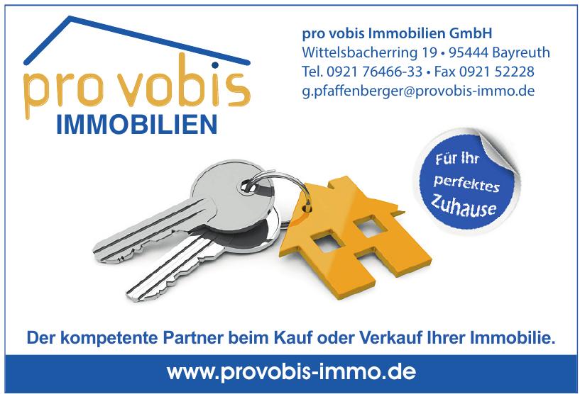 pro vobis Immobilien GmbH
