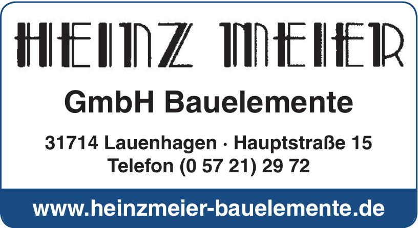 Heinz Meier GmbH Bauelemente