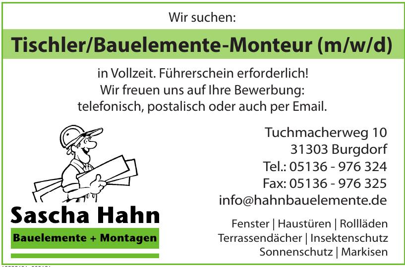 Sasha Hahn Bauelemente + Montagen