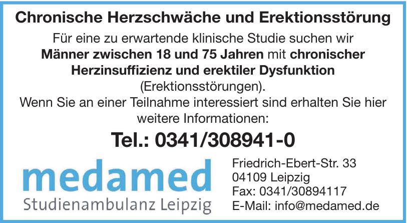 Medamed Studienambulanz Leipzig