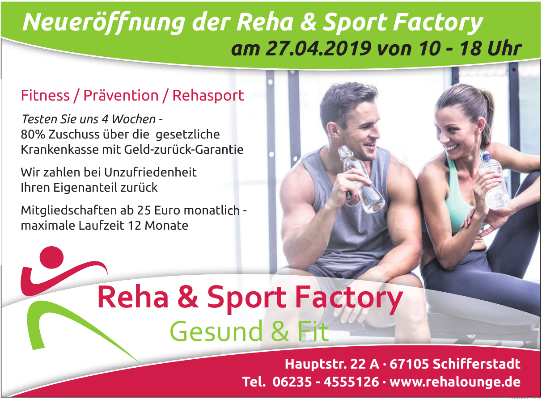 Reha & Sport Factory Gesund & Fit