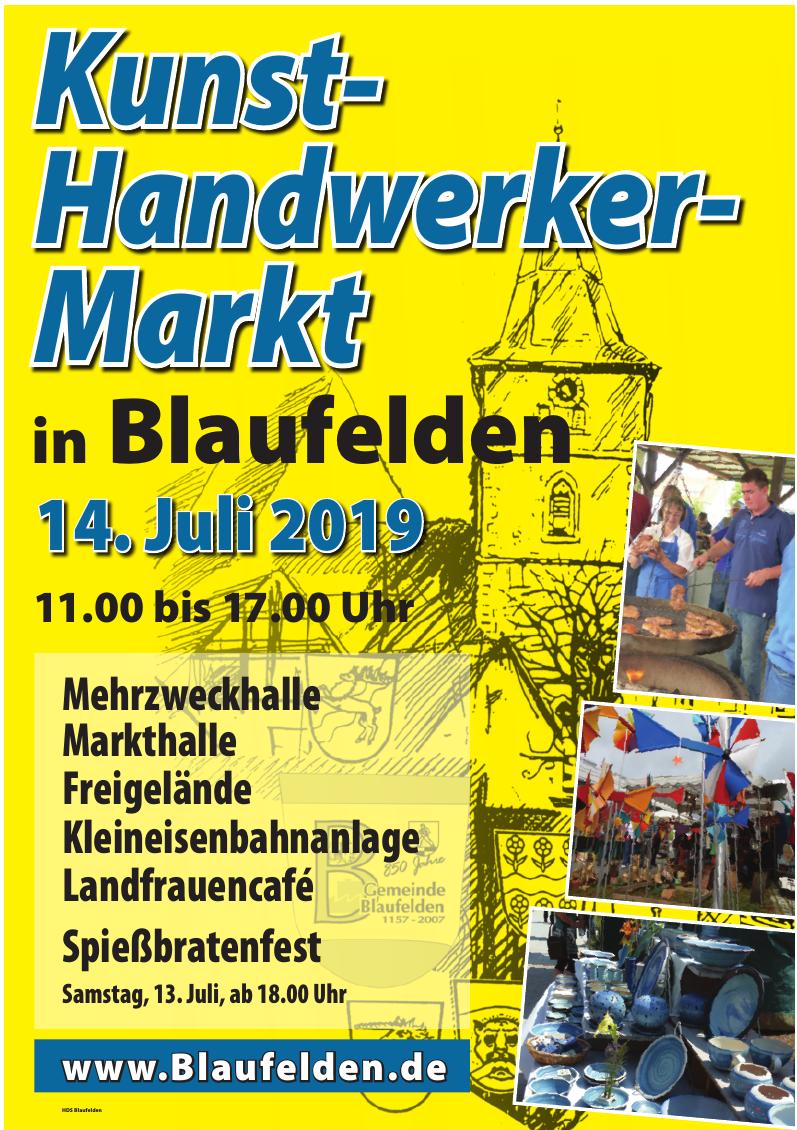 Kunst- und Handwerker-Markt in Blaufelden