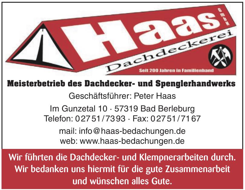 Dachdeckerei Haas GmbH