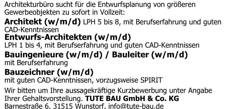 TUTE BAU GmbH & Co. KG