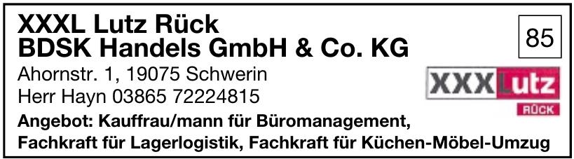 XXXL Lutz Rück BDSK Handels GmbH & Co. KG