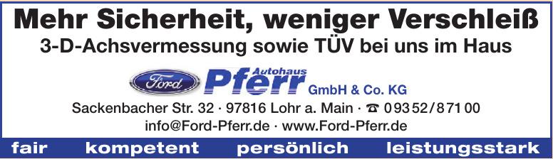 Autohaus Pferr GmbH & Co. KG