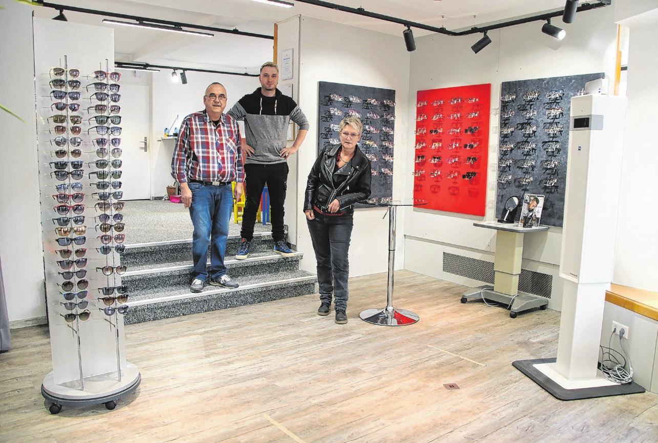 Mit der Namensänderung von Optik Stein zu Optik und Hörakustik Rauscher ging auch die Umgestaltung des Fachgeschäfts einher: Die Räume präsentieren sich hell und freundlich.