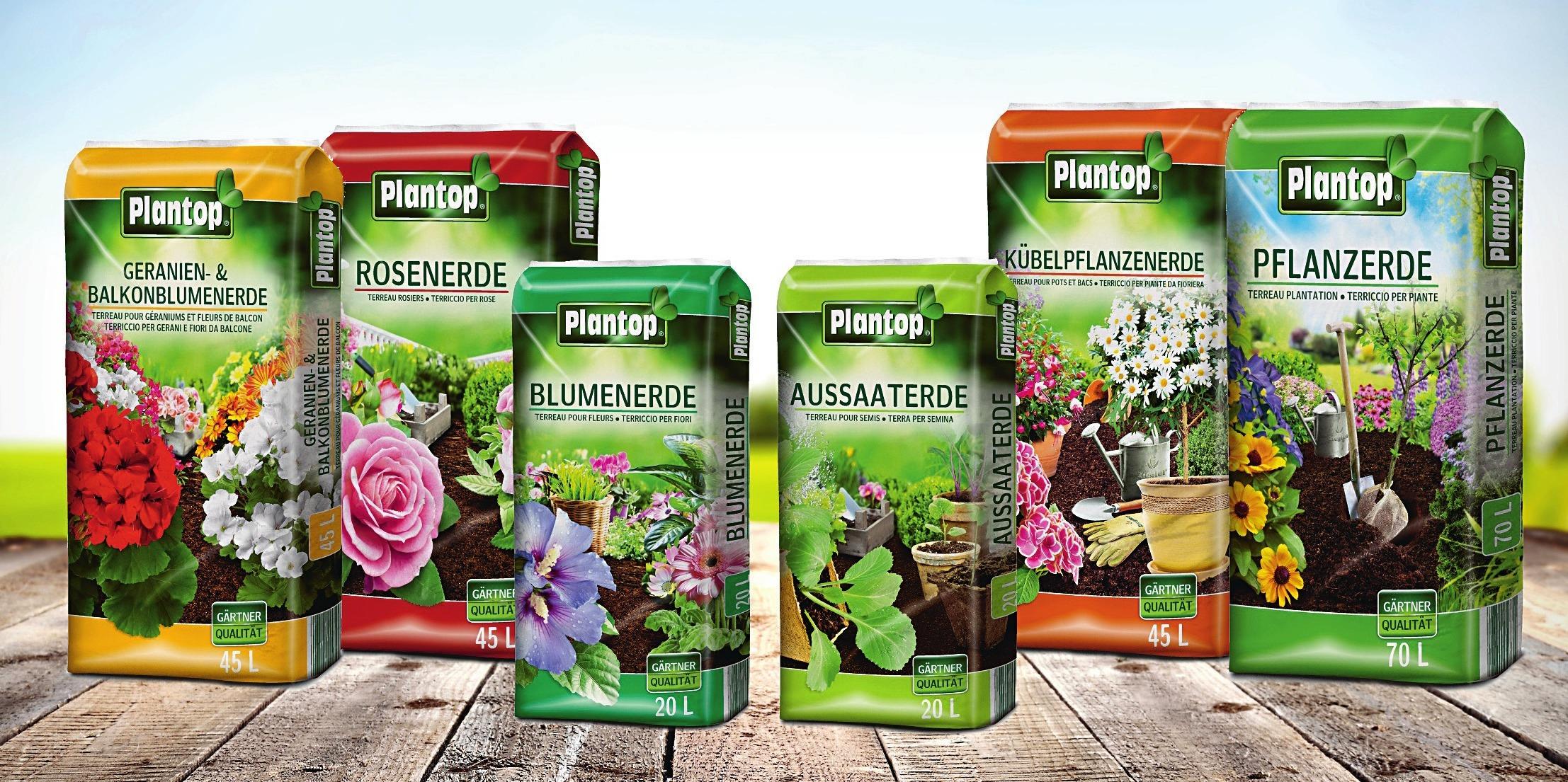 Die Plantop-Familie von Ziegler hält für zahlreiche Anwendungen geeignete Rezepturen bereit. Werkfotos