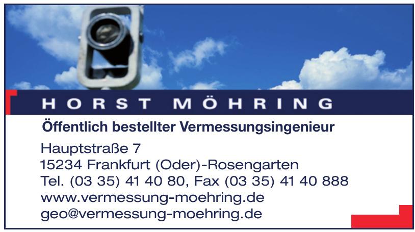 Horst Möhring - Öffentlich bestellter Vermessungsingenieur