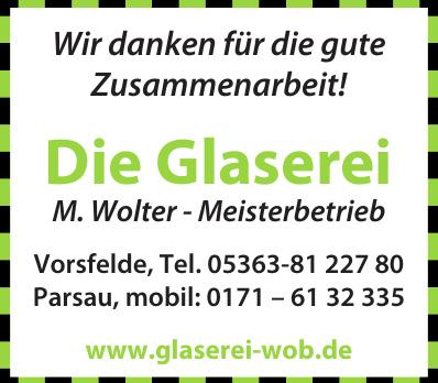 Die Glaserei M. Wolter - Meisterbetrieb