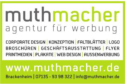Muthmacher – Agentur für Werbung
