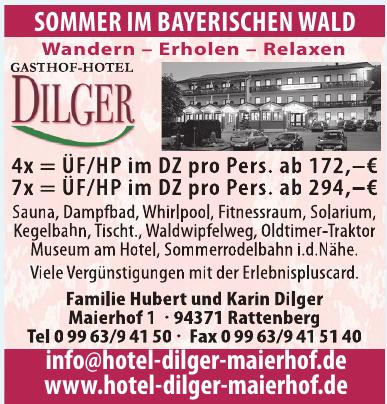 Familie Hubert und Karin Dilger
