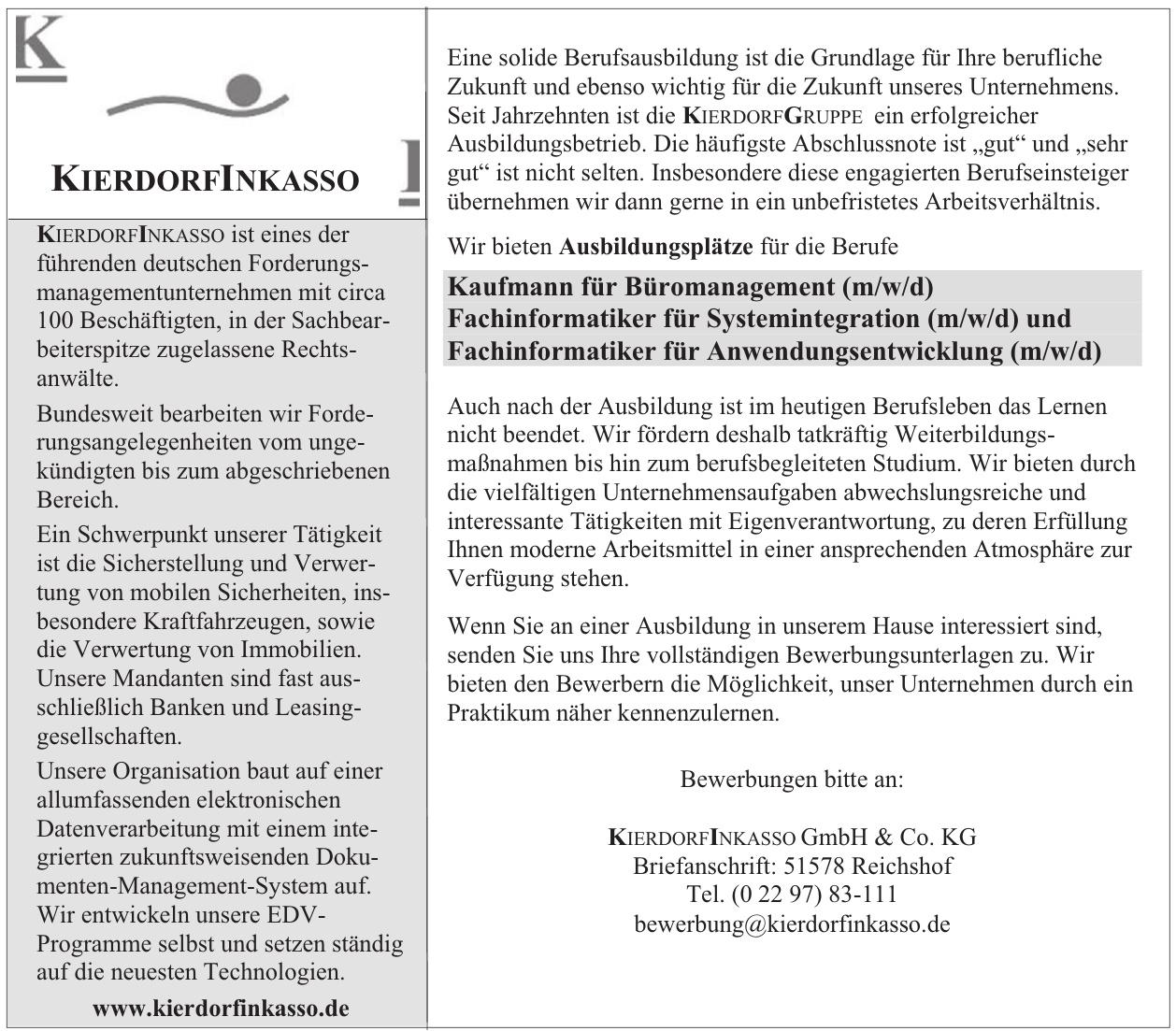 KierdorfinKasso GmbH & Co. KG