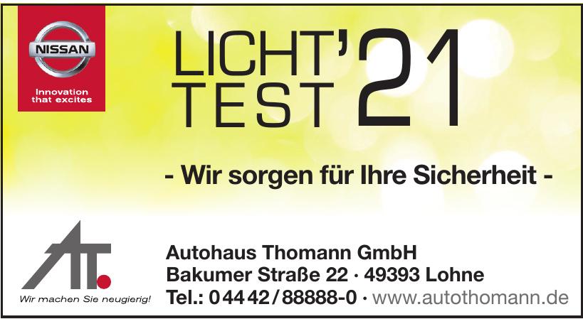 Autohaus Thomann GmbH