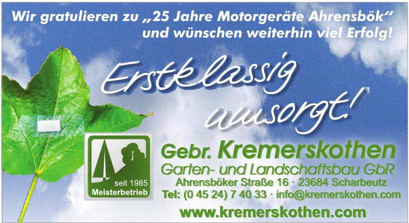 Gebr. Kremerskothen Garten- und Landschaftsbau GbR