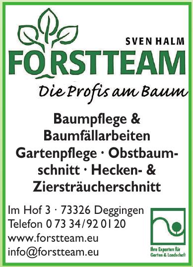 Sven Halm Forstteam