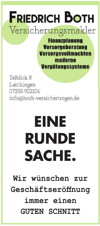 Friedrich Both Versicherungsmakler