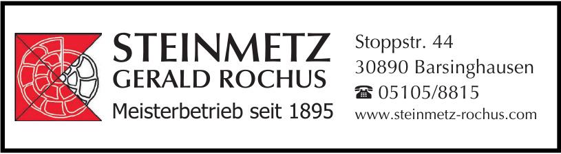 Steinmetz Gerald Rochus