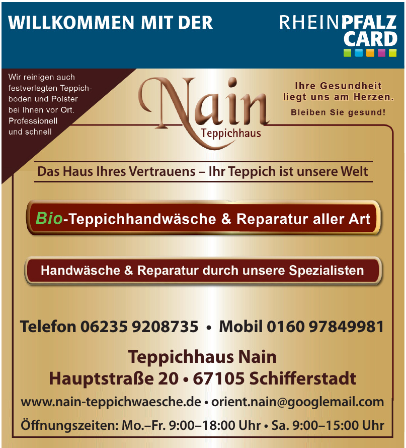 Teppichhaus Nain