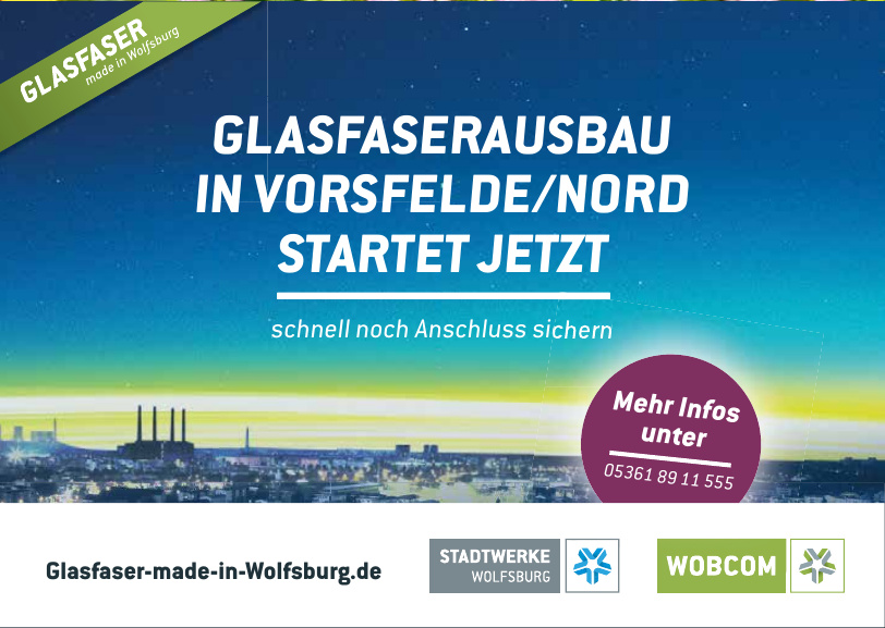 Glasfaser made in Wolfsburg
