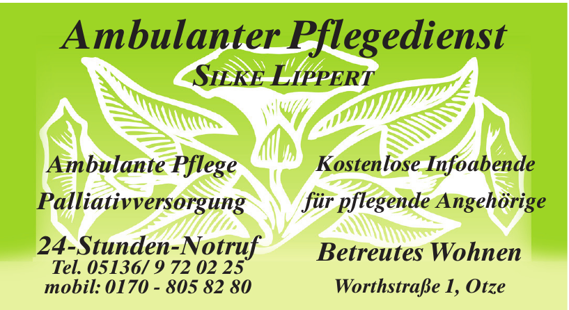 Ambulanter Pflegedienst Silke Lippert