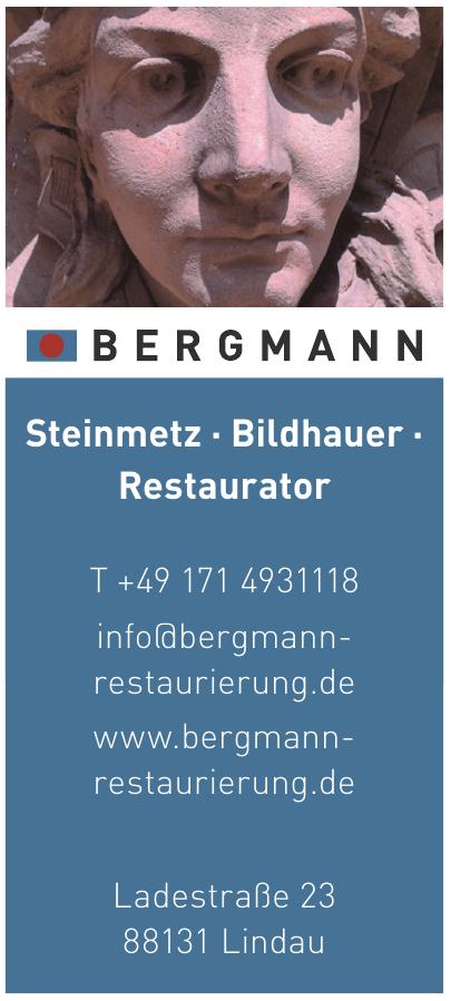 Bergmann Steinmetz, Bildhauer, Restaurator