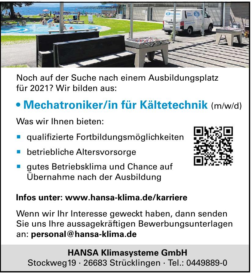 HANSA Klimasysteme GmbH