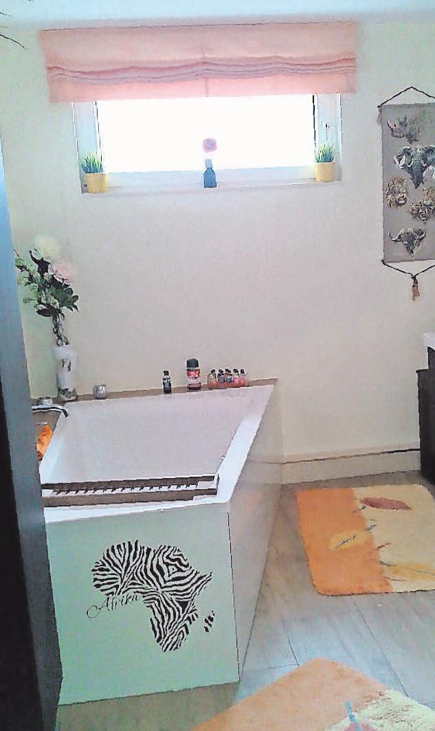 Mit dem kompetenten Team von Bad & Wärme wird aus dem Siebzigerjahre- Badezimmer eine freundliche Wohlfühloase.