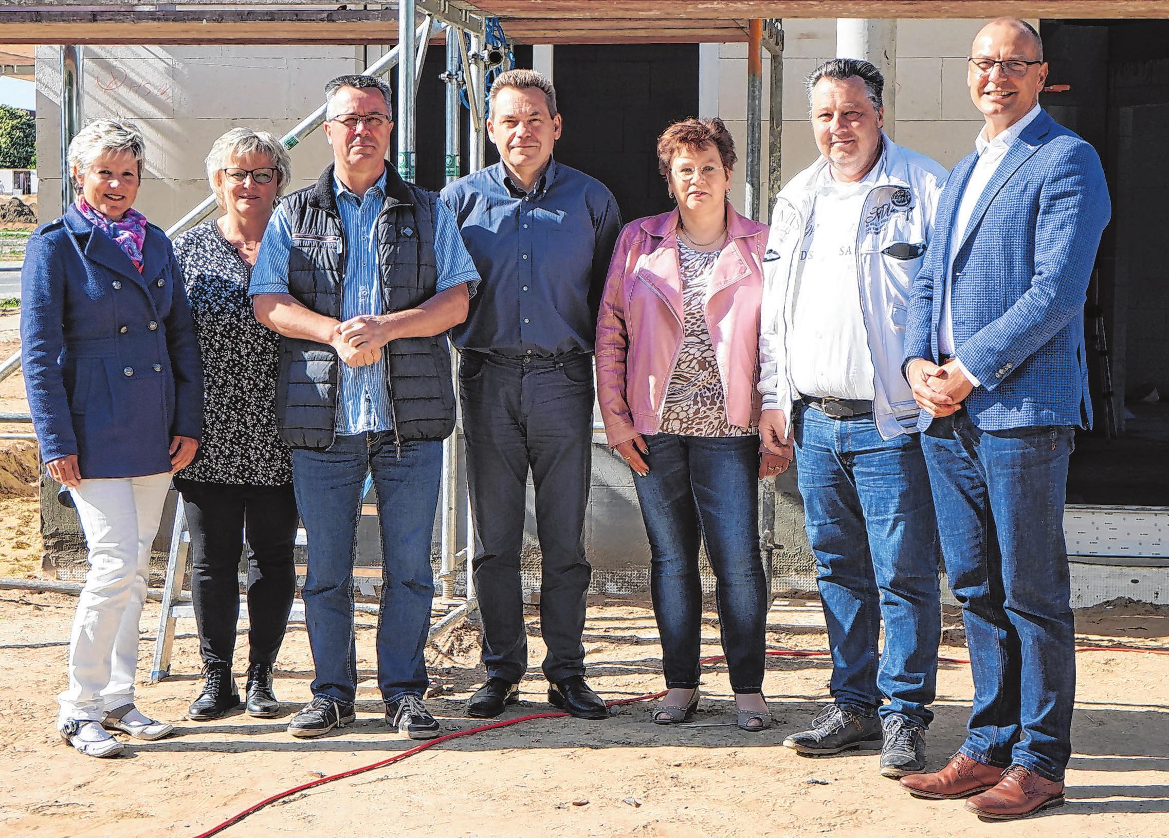 Das Team der Variodomo Bausysteme GmbH realisiert individuelle Eigenheime für private Bauherren, vom ersten Entwurf bis zur Schlüsselübergabe. Fotos (2): Andrea Steinert