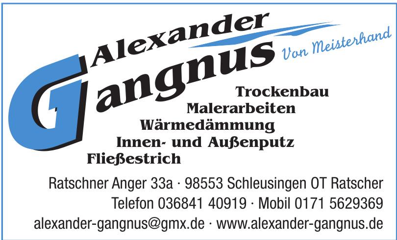 Alexander Gangnus