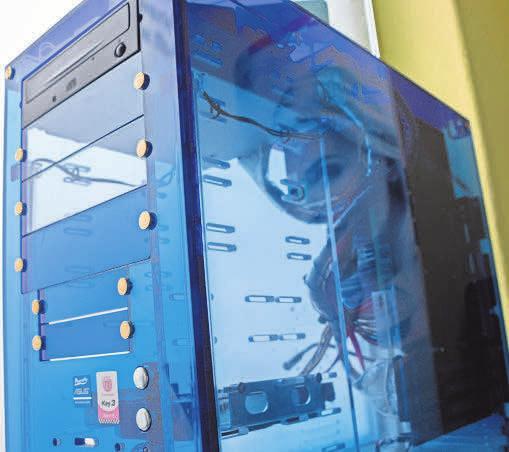Der gläserne PC: IT-Sicherheit spielt beim Zugriff auf Firmendaten im Home Office eine große Rolle.