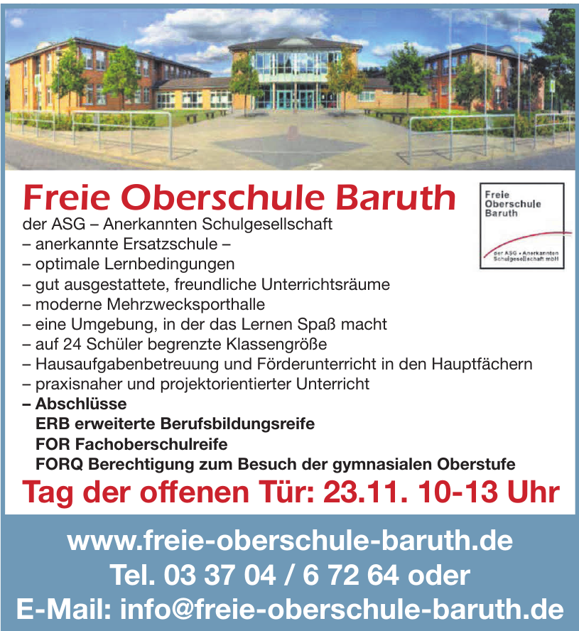 Freie Oberschule Baruth