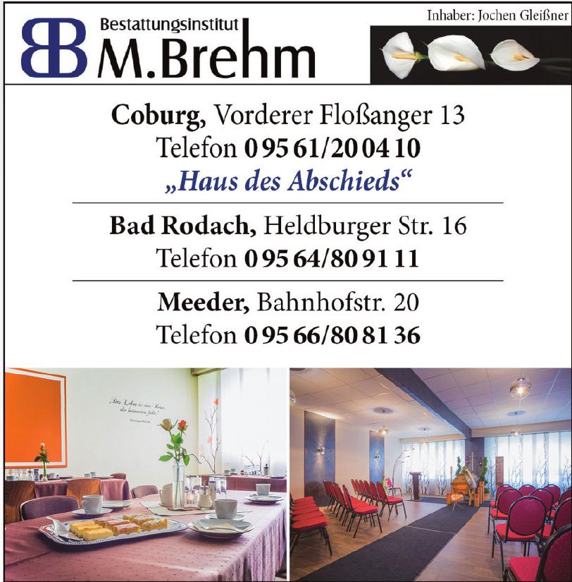 Bestattungsinstitut M. Brehm