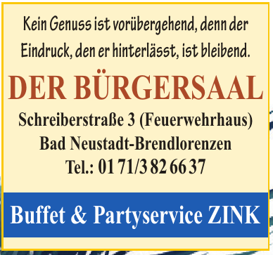 Buffer & Partyservice Zink