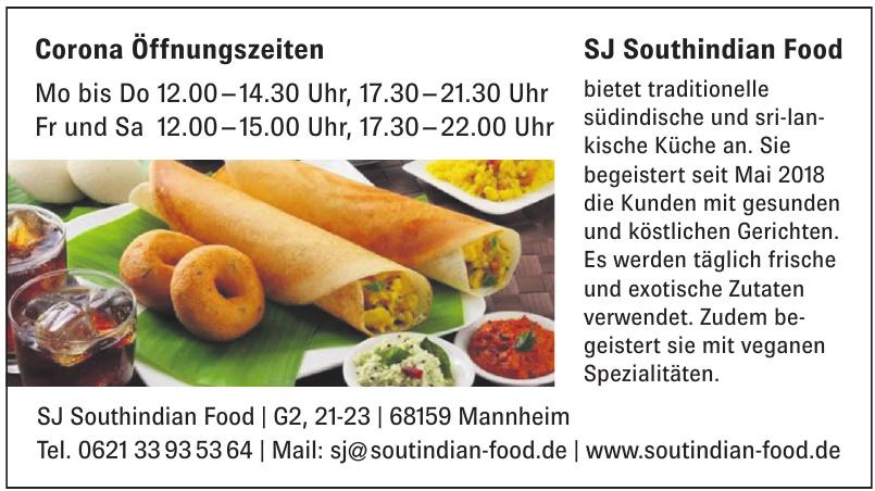 SJ Southindian Food