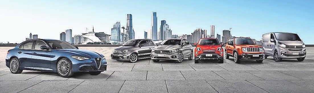 Für die gesamte Palette des Autokonzerns Fiat Chrysler Automobiles (FCA) gibt es ab sofort Sonderkonditionen.