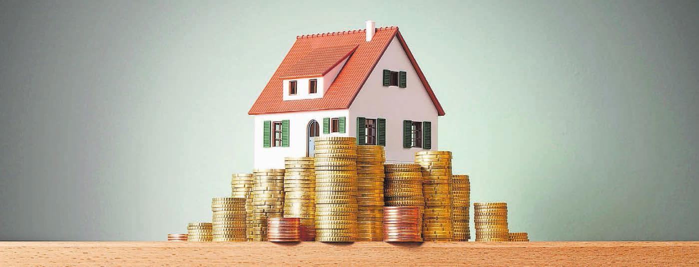 Muss von Hauseigentümerinnen und -eigentümern versteuert werden: der Eigenmietwert ihrer Immobilie. Bild: Fotolia