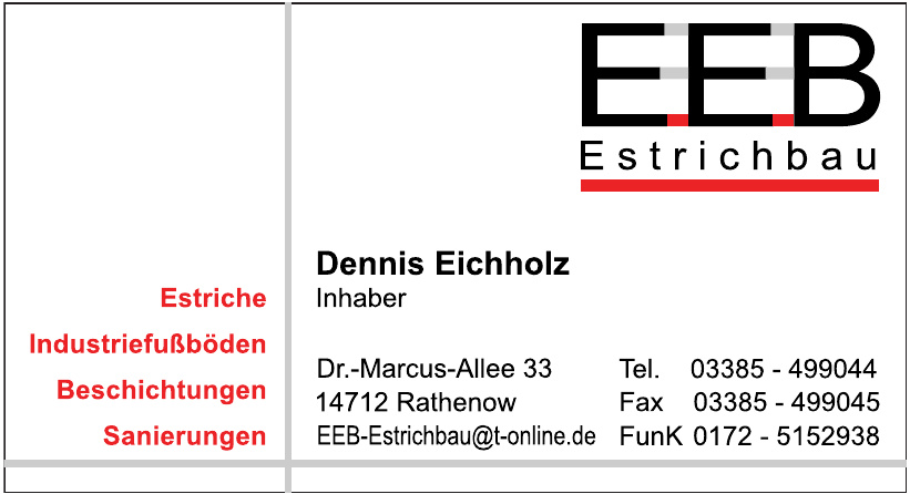 EEB Estrichbau