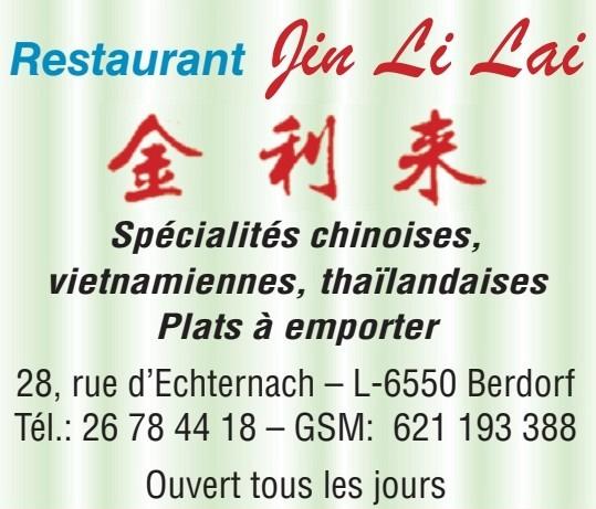 Restaurant Jin Li Lai