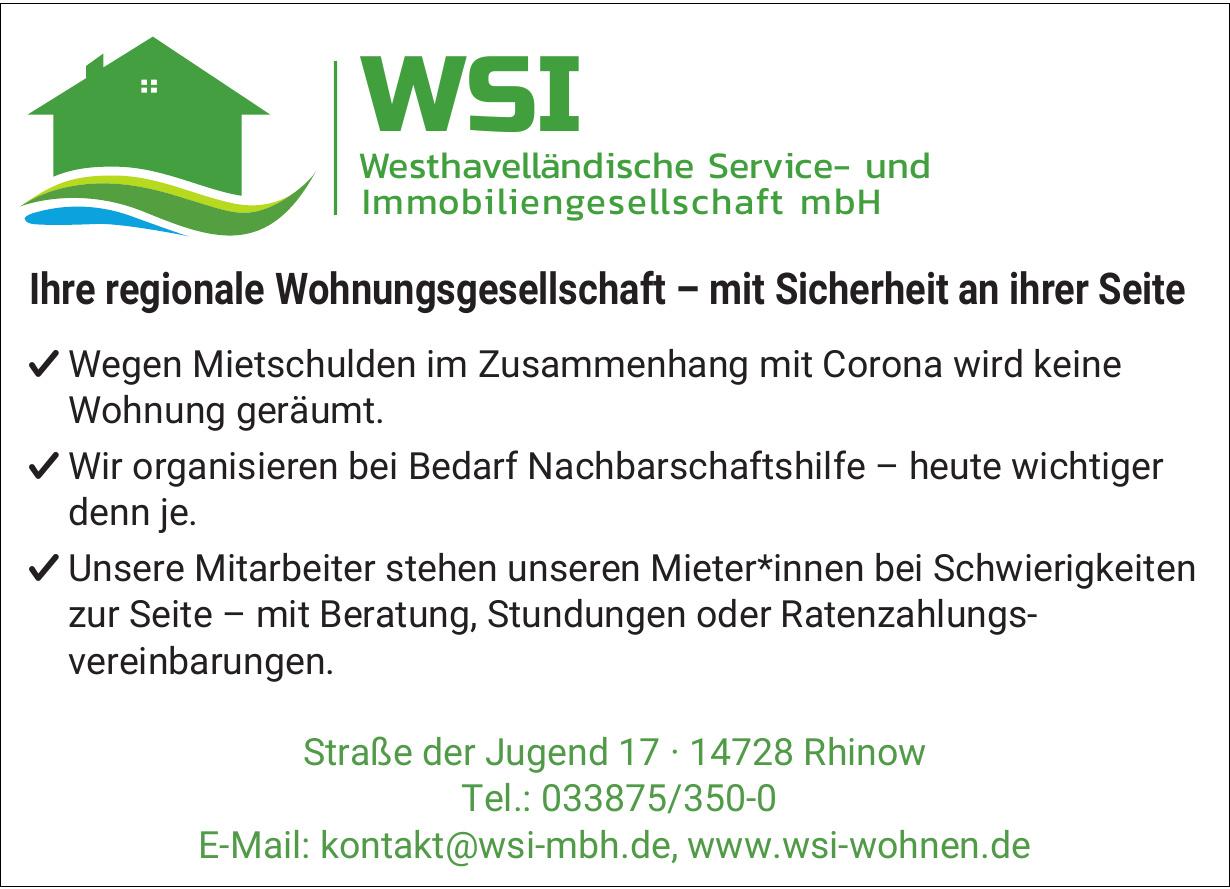 Westhavelländische Service- und Immobiliengesellschaft mbH