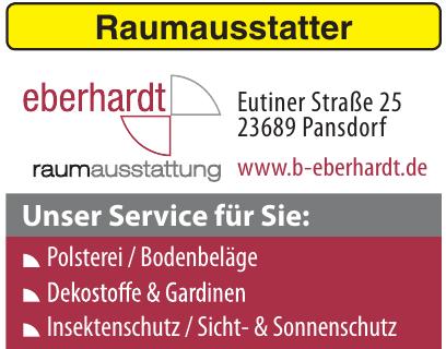Raumausstatter Bernd Eberhardt