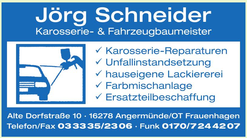Jörg Schneider Karosserie- & Fahrzeugbaumeister