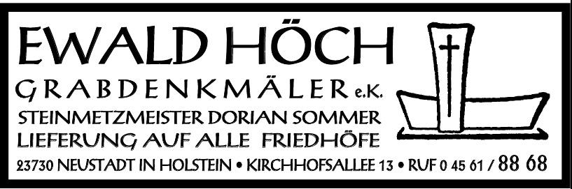 Ewald Höch Grabdenkmäler e.K.