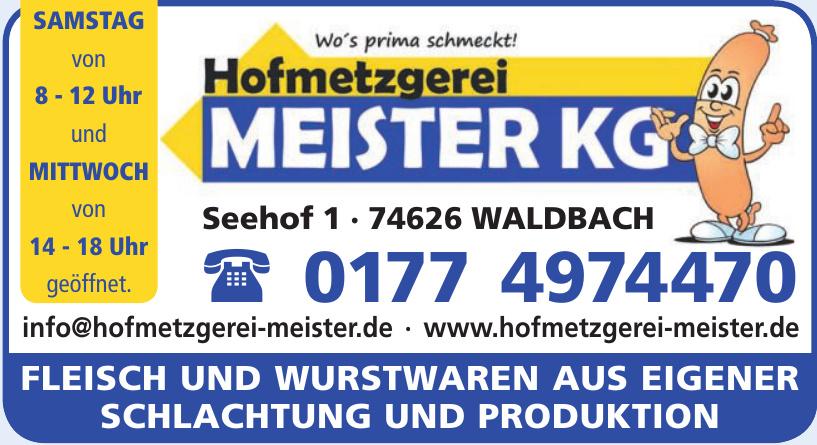 Hofmetzgerei Meister KG